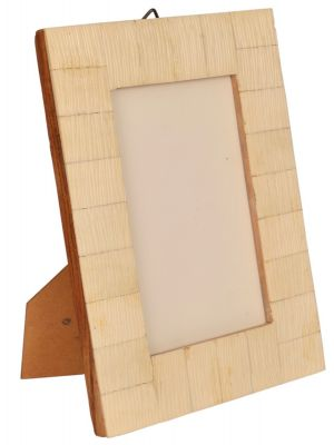 PHOTO FRAME- 4*6  Handicraft & Hand carved Bone & Wood Photo Frame