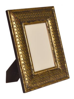 Handicraft & Handpainted Brass & Wooden CarvingPhoto Frame