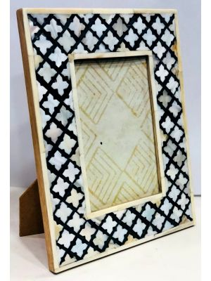 5*7 PHOTO FRAME - Mother of Pearl/Sea Shell Handcrafted Photo Frame