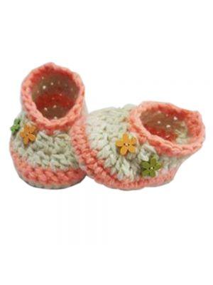 Crochet Booties for Baby Girls