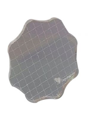 Round Acrylic Stamping Block- Small
