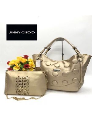 Jimmy Choo Light Gold Color Purse