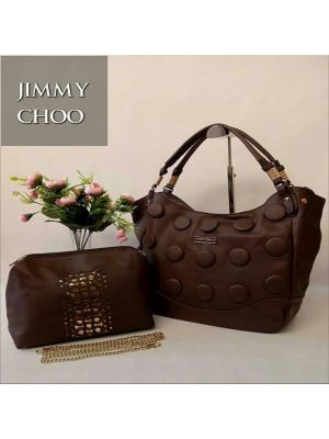 Jimmy Choo Dark Brown Purse