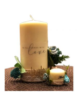 Personalized Quote Candle