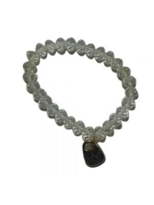 White Beat Stretchable Bracelet